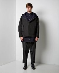 Marni - Black Layered Coat for Men - Lyst