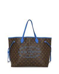 Neverfull di Louis Vuitton in Blue