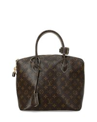 Lockit di Louis Vuitton in Brown