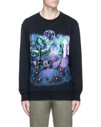 Lanvin Multicolor 'dune' Print Sweatshirt for men