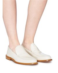 Alumnae Multicolor Leather Step-in Loafers
