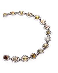 Monique Péan - Metallic 'atelier' Halo Diamond 18k Gold Bracelet - Lyst