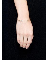 Phyne By Paige Novick - Metallic Olivia' 18k Gold Diamond Pavé Opal Cuff - Lyst