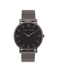 Larsson & Jennings Black 'lugano 40mm' Watch