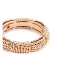 Roberto Coin - Metallic 'barocco' 18k Rose Gold Ring - Lyst