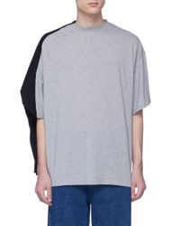 Y. Project Blue Double Layered Unisex T-shirt for men