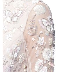 Needle & Thread - Pink 'butterfly' Embellished Tulle Gown - Lyst