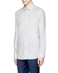 Paul Smith | Blue Floral Print Shirt for Men | Lyst