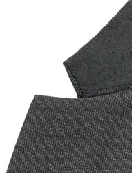 Givenchy   Gray Notch Lapel Speckled Wool Suit for Men   Lyst