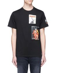 Haculla | Black 'gallery' Poster Patch T-shirt for Men | Lyst