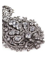 Anabela Chan - Metallic 'mirage' Diamond 18k Black Gold Plated Silver Drop Earrings - Lyst