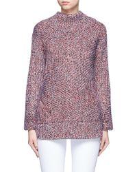 Rag & Bone | Red 'bry' Merino Wool Blend Turtleneck Sweater | Lyst
