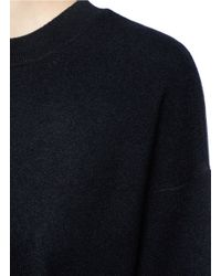 Vince Black 3/4 Sleeve Cashmere Sweater