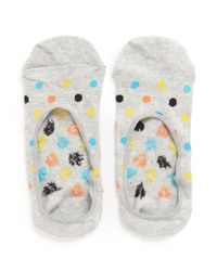 Happy Socks | Multicolor Polka Dot Liner Socks | Lyst