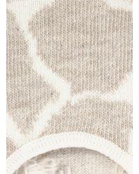 Happy Socks - Natural Giraffe Liner Socks - Lyst