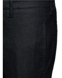 Armani - Blue Straight Leg Denim Pants for Men - Lyst