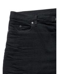 Maison Margiela - Black Raw Denim Slim Fit Jeans for Men - Lyst
