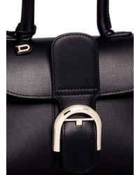 Delvaux | Black 'brillant Mini' Box Calf Leather Bag | Lyst