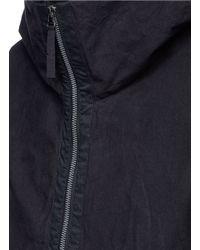 Ziggy Chen - Black Hooded Down Coat for Men - Lyst
