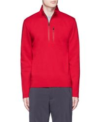Aztech Mountain - Red 'matterhorn' Half Zip Sweater for Men - Lyst