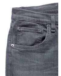 Rag & Bone Blue 'fit 1' Skinny Jeans for men