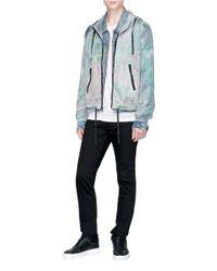 John Elliott Multicolor Tie-dye Hooded Jacket for men
