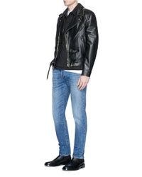 Valentino Black 'rockstud' Polo Shirt for men
