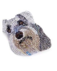 Mignonne Gavigan - Multicolor Beaded Dog Brooch – Schnauzer - Lyst