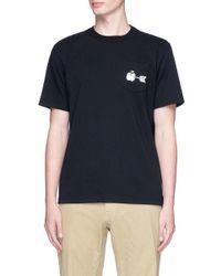 Sacai - Multicolor Apple Arrow Print T-shirt for Men - Lyst