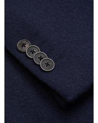 Camoshita Blue Three Patch Pocket Blazer for men