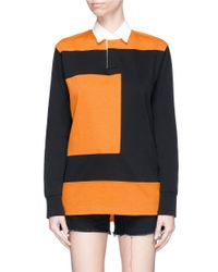 Proenza Schouler - Multicolor Pswl Colourblock Rugby Shirt - Lyst