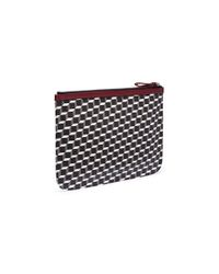 Pierre Hardy - Multicolor 'perspective Cube' Print Large Pouch for Men - Lyst