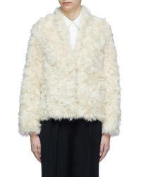 Vince Multicolor Faux Fur Jacket for men