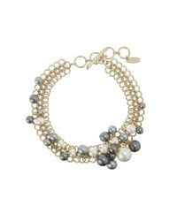 Lanvin | Gray Necklace | Lyst