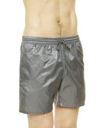 La Perla | Gray Swimming Shorts for Men | Lyst