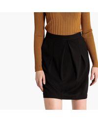 LA REDOUTE - Black Short Skirt - Lyst