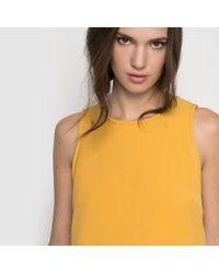 Suncoo - Yellow Shift Dress - Lyst
