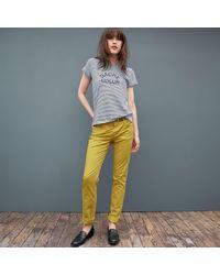 LA REDOUTE - Black Trousers, Slim Fit - Lyst