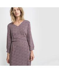 LA REDOUTE - Purple Robe Imprimée - Lyst