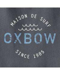 Oxbow - Gray Tanker Printed T-shirt for Men - Lyst