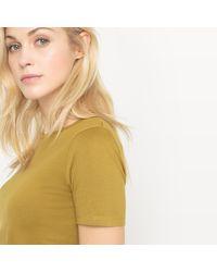 LA REDOUTE - Multicolor Organic Cotton Crew Neck T-shirt - Lyst