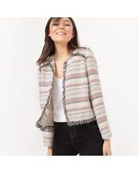 Vero Moda - Multicolor Jacquard Jacket - Lyst
