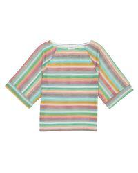 Vero Moda - Multicolor Polyester Crew Neck Jumper/sweater - Lyst