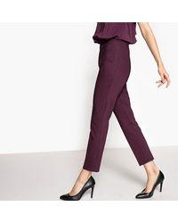 LA REDOUTE - Purple Halter Neck Jumpsuit - Lyst