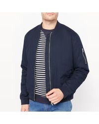 LA REDOUTE | Blue Bomber Jacket for Men | Lyst