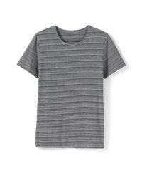 LA REDOUTE - Blue Printed Crew Neck T-shirt for Men - Lyst