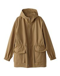 LA REDOUTE - Natural Lightweight Mid-length Hooded Parka - Lyst