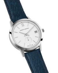 Larsson & Jennings Blue Saxon Svi Navy And Silver Women's Watch