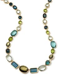 Ippolita - Multicolor 18k Rock Candy® Gelato Necklace - Lyst