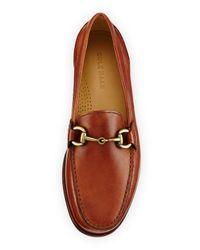 Cole Haan - Black Fairmont Horsebit Leather Loafer for Men - Lyst